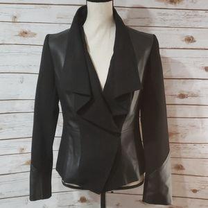 Renaur Faux Leather Jacket - Size 6